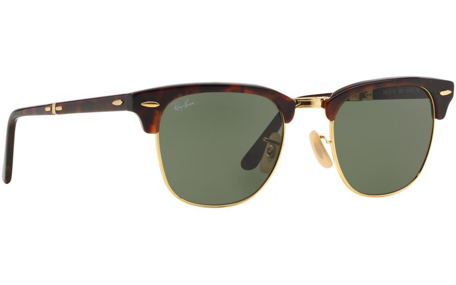 72b77386468 Ray-Ban plegable Clubmaster RB2176 990 51 gafas de sol - envío ...