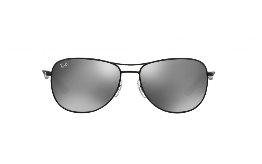 ca45596110 zoom. 360° view. Frame  Matte black. Lens  Grey mirror silver